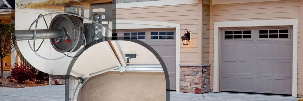 Garage Door Tracks Repair Burlington